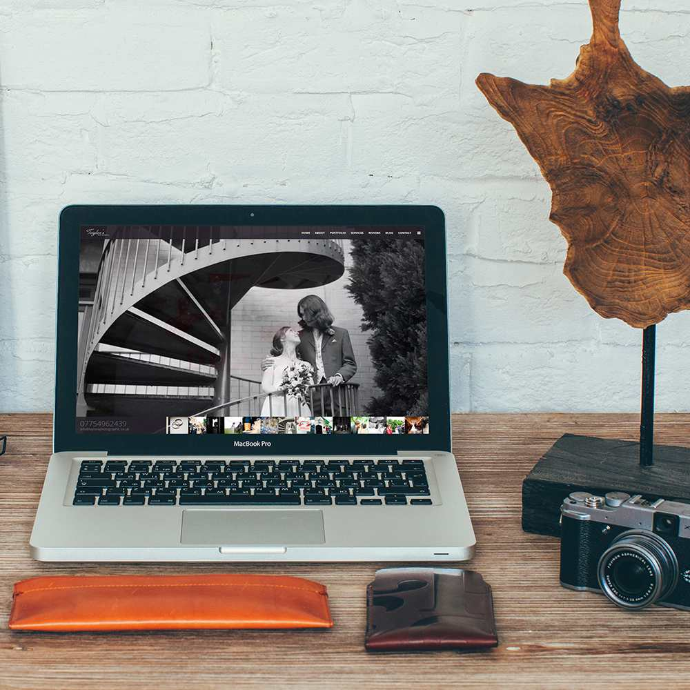 Azura_Design_Portfolio_taylors_photographic_website_design_mobile | Azura Design - Digital Creative Studio London
