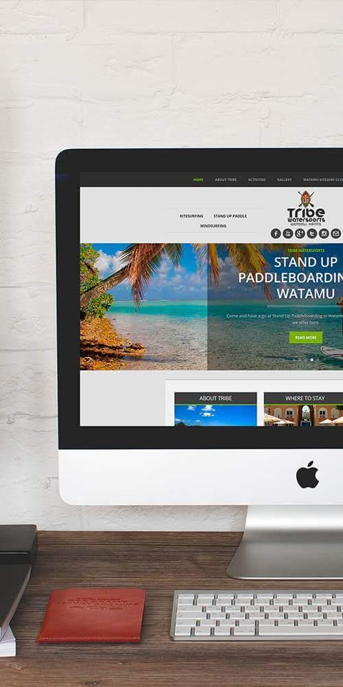 azura_portfolio_long_tribe_watersports_web_design | Azura Design - Digital Creative Studio London